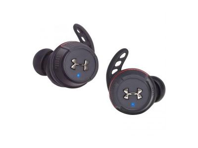 JBL Under Armour Flash X True Wireless In-Ear Sport Headphones in Black - UAJBLFLASHXBLKAM