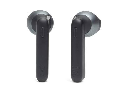 JBL Tune 225TWS  Truly Wireless Earbud Headphones in Black  - JBLT225TWSBLKAM