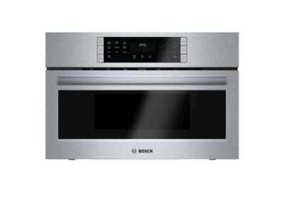 """30"""" Bosch Benchmark  Built-in Oven with Microwave in Stainless steel - HMC80251UC"""