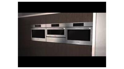 """27"""" Bosch 500 Series Single Wall Oven-Stainless Steel-HBN5451UC"""