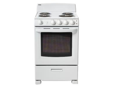 "24"" Danby Single Oven Electric Range - DER244WC"