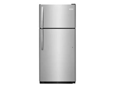 Frigidaire Freestanding Top Freezer Refrigerator In Stainless Steel - FFHT1821TS