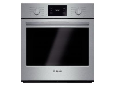 "27"" Bosch Single Wall Oven 500 Series - Stainless Steel HBN5651UC"