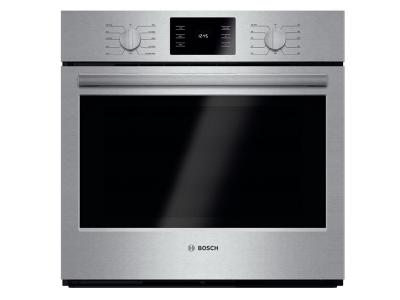 "30"" Bosch Single Wall Oven 500 Series - Stainless Steel HBL5451UC"