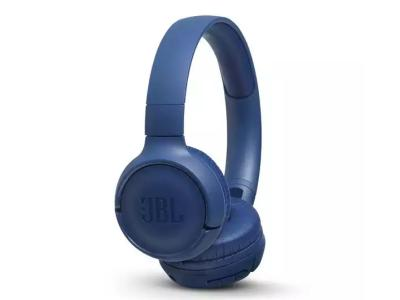 JBL TUNE 500BT Wireless On-Ear Headphones In Blue - JBLT500BTBLUAM