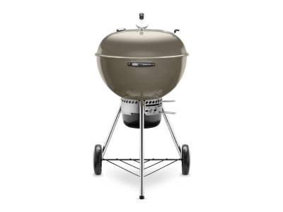 "24"" Weber Charcoal with Built-In Thermometer in Smoke  - Master-Touch (Sm)"