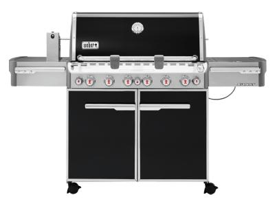 "74"" Weber Summit Series 6 Burner Liquid Propane Grill With Built-In Thermometer - Summit E-670 LP"