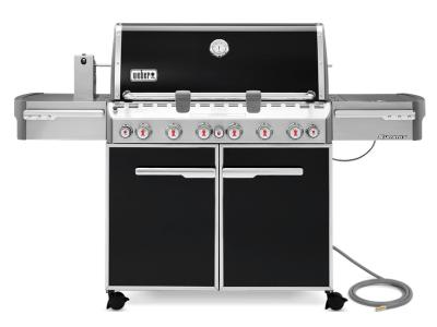 "74"" Weber Summit Series 6 Burner Natural Gas Grill With Built-In Thermometer - Summit E-670 NG"