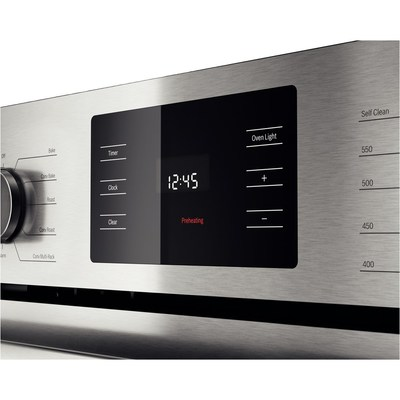 """30"""" Bosch 4.6 Cu. Ft. 500 Series Single Wall Oven In Stainless Steel - HBL5451UC"""