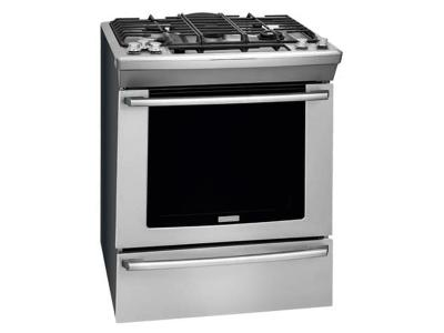 "30"" Electrolux  Gas Built-In Range with Wave-Touch Controls - EW30GS80RS"