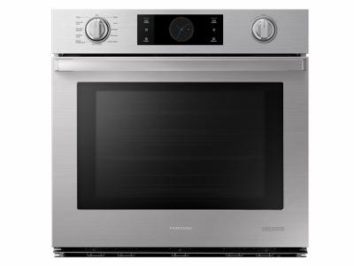 """30"""" Samsung Chef Collection Single Wall Oven with Flex Duo - NV51M9770SS"""