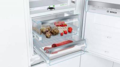 "24"" Bosch Custom Panel Built-In Bottom Freezer Refrigerator - B09IB91NSP"