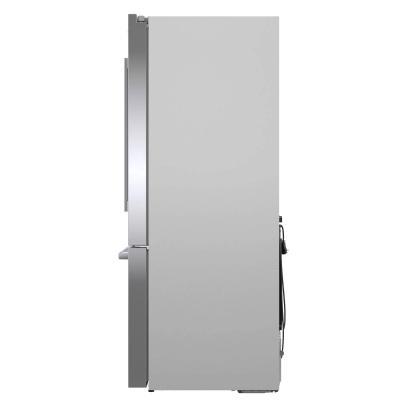 """36"""" Bosch 20.8 Cu.ft French Door Refrigerator Thru Door Ice Dispenser - B36CD50SNS"""