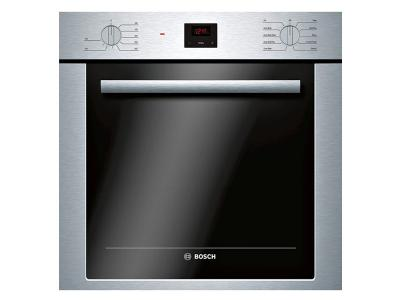 "24"" Bosch Single Wall Oven with Convection Stainless Steel - HBE5453UC"