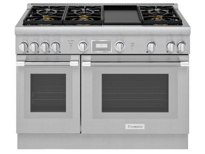 "48"" Thermador Professional Series Pro Harmony Standard Depth Gas Range - PRG486WDH"
