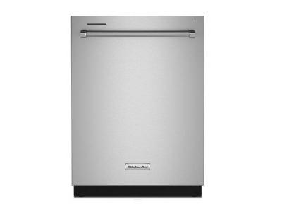 "24"" KitchenAid Built-In Undercounter Dishwasher in Stainless Steel - KDTE204KPS"