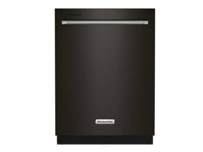 "24"" KitchenAid Built-In Undercounter Dishwasher in BlackStainless Steel - KDTE204KBS"