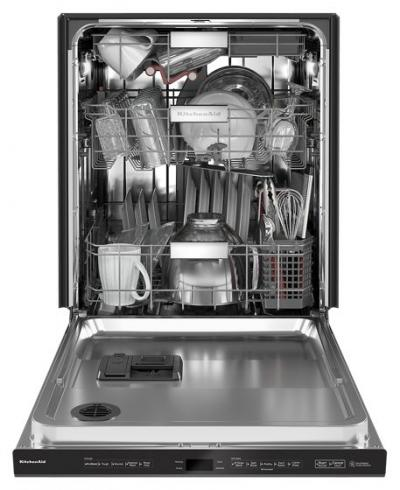 "24"" KitchenAid 44 dBA Dishwasher with FreeFlex Third Rack - KDPM804KBS"