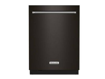 "24"" KitchenAid 44 dBA Dishwasher in PrintShield Finish with FreeFlex Third Rack - KDTM604KBS"