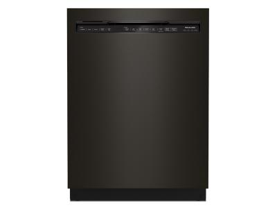 "24"" KitchenAid 44 dBA Dishwasher in PrintShield Finish with FreeFlex Third Rack - KDFM404KBS"