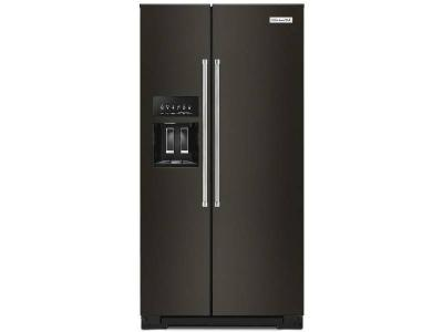 "36"" KitchenAid 22.6 cu ft. Counter-Depth Side-by-Side Refrigerator -  KRSC703HBS"