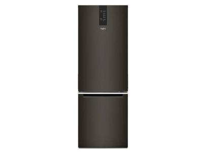 "24"" Whirlpool 12.9 Cu. Ft. Wide Bottom Freezer Refrigerator In Black Stainless - WRB543CMJV"