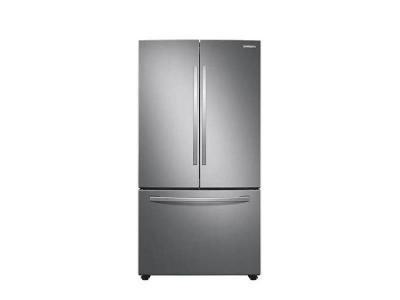 "36"" Samsung French Door Refrigerator with Freezer Located Ice Dispenser - RF28T5A01SR"