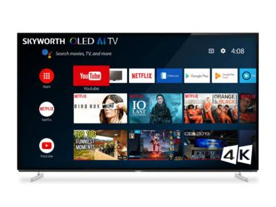 "65"" Skyworth 65XA8000 4K HDR Android Smart TV"