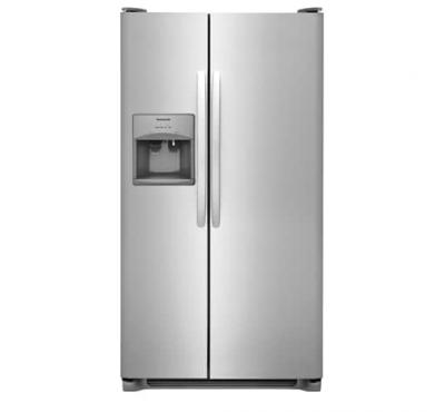 "33"" Frigidaire 22.1 Cu. Ft. Side-by-Side Refrigerator - FFSS2315TS"