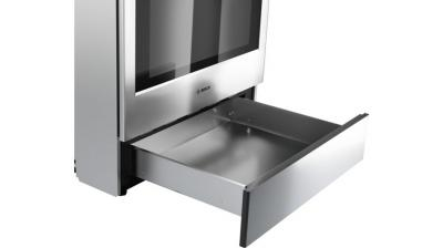 Bosch 800 Series Dual Fuel Slide-in Range Stainless steel - HDI8056C