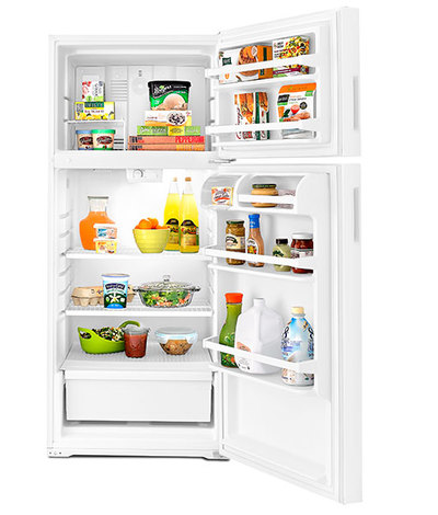 "28"" Amana 16 cu. ft. Top-Freezer Refrigerator - ART316TFDW"