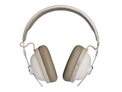 Panasonic Noise-Free Bluetooth Headphones In White - RPHTX90W