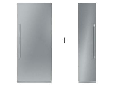 "36"" Thermador Built in Fresh Food Column T36IR900SP + 18"" Thermador Built in Freezer Column T18IF901SP"