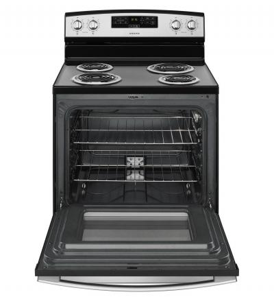 "30"" Amana Electric Range with Bake Assist Temps - YACR4303MFW"