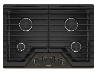 "30"" Whirlpool Gas Cooktop With 4 Burners - WCG55US0HV"