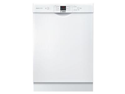 "24"" Bosch  Ascenta dishwasher white-SHEM3AY52N"