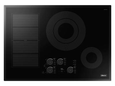 """30"""" Dacor Transitional Style Induction Cooktop With Intuitive Glass Touch Control - DTI30P876BB"""