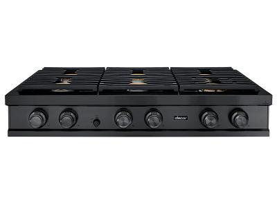 "48"" Dacor Contemporary Style Liquid Propane Rangetop In Graphite Stainless Steel - DTT48M876PM"