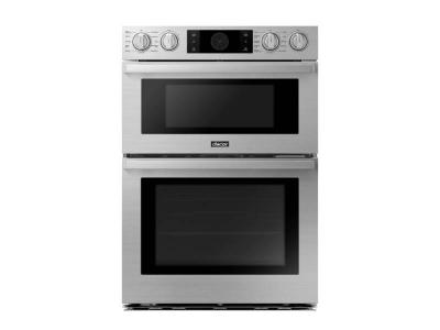 "30"" Dacor Combination Electric Wall Oven with 7.0 Cu. Ft. Total Capacity - DOC30P977DS"