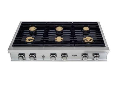 "48"" Dacor Modernist Series Smart Liquid Propane Rangetop with 6 Sealed Burners  - DTT48M876PS"