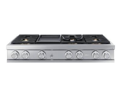 "48"" Dacor Natural Gas Rangetop with Griddle - DTT48M976LS"