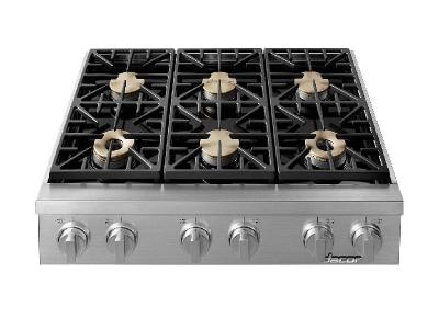 "36"" Dacor Natural Gas Rangetops - HRTP366S/NG"