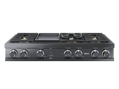 "48"" Dacor Natural Gas Rangetop with Griddle - DTT48M976LM"