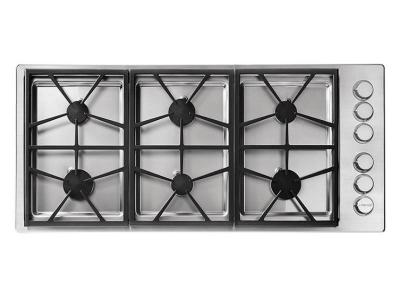 "46"" Dacor Professional Series Liquid Propane Gas Cooktop - HPCT466GS/LP"