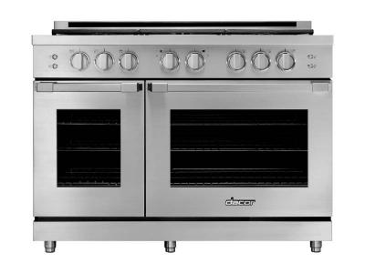 "48"" Dacor Natural Gas Pro Range - HGPR48S/NG"