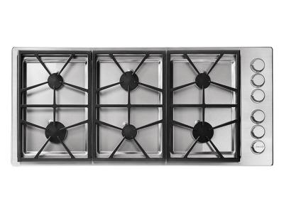 "46"" Dacor Professional Series Natural Gas Cooktop - HPCT466GS/NG"