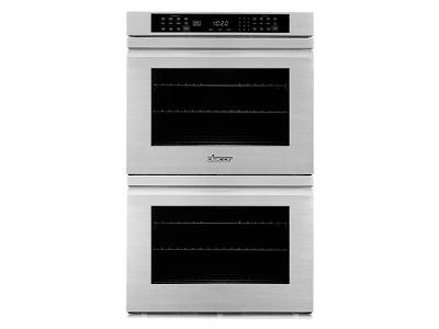 "27"" Dacor Professional Series Double Wall Oven With Flush Handle - HWO227FS"