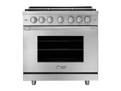 "36"" Dacor Natural Gas Pro Range - HGPR36C/NG"