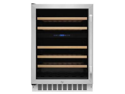 "24"" Dacor Professional Series Dual Zone Wine Cellar With Left Hinge - HWC242L"