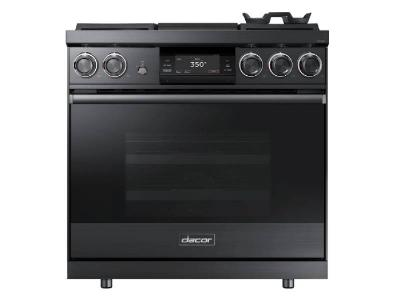 "36"" Dacor Contemporary Series Pro Dual-Fuel Steam Range With Griddle - DOP36M94DPM"